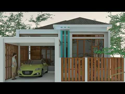 gambar desain rumah minimalis ukuran 7x12