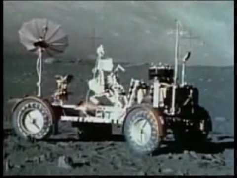 Final Moon Mission Apollo 17 (1972) Rare Moon Landing Video