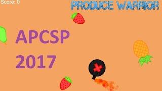 AP Computer Science Principles Aufgabe Erstellen 2017 (Hab mir 5 :D) AP-CSP