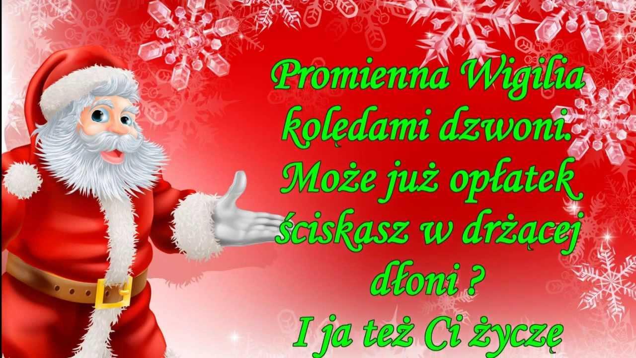 Fajne życzenia Na Boże Narodzenie Dla Bliskich Napisz Sms
