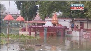 Water Level of River Ganga Increases Continuously At Varanasi In UP