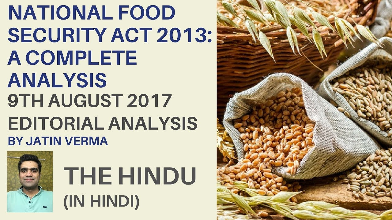 Is Food Security Law necessary for India?