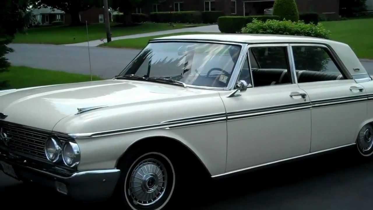 For Sale 1962 Ford Galaxie 500 Town Sedan Youtube