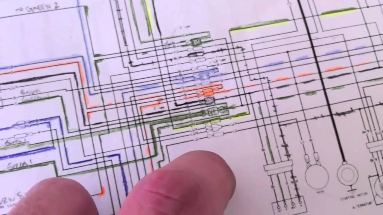 honda c70 wiring diagram image [ 1280 x 720 Pixel ]