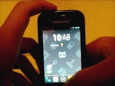 CyanogenMod 10.1 (Android 4.2.2) on Samsung Galaxy Gio GT-S5660