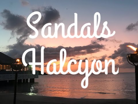 Sandals St Lucia Halcyon with 4k drone footage