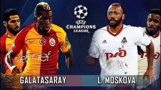 GALATASARAY - FK LOKOMOTİV MOSKVA ŞAMPİYONLAR LİGİ GRUP MAÇI | FTS 19 / TAP 19