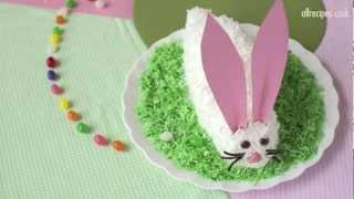 Easter Bunny Cake Recipe - Allrecipes.co.uk