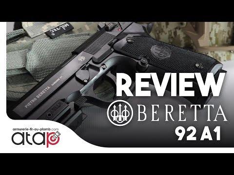 Review Beretta 92 A1 Pistolet à bille d'acier