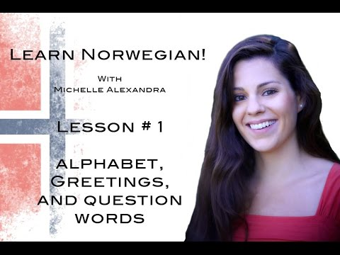 Learn Norwegian! Lesson #1