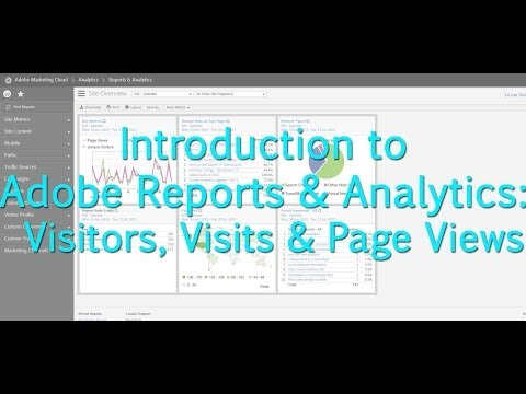 [Tutorial] Adobe Reports & Analytics: Visitors, Visits & Page Views