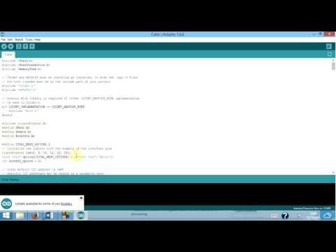 Smart Cube University Team Project, Coding Demonstration Video