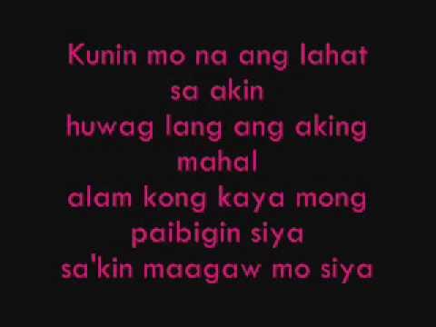 Kunin Mo Na Ang Lahat Sa Akin - Jeremiah