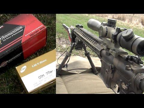 CBC vs Black Hills - 77gr 5.56mm Velocity Test