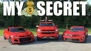 One of GuitarmageddonZL1's most viewed videos: How I Afford $170,000 Worth Of Cars!!! (Anyone Can Do It)