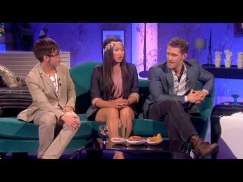 Glee's Matt, Jenna and Kevin interview on Alan Carr: Chatty Man