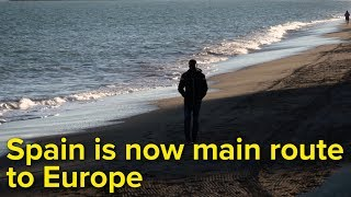 Desperate Journeys: Spain now main route to Europe for refugees and migrants