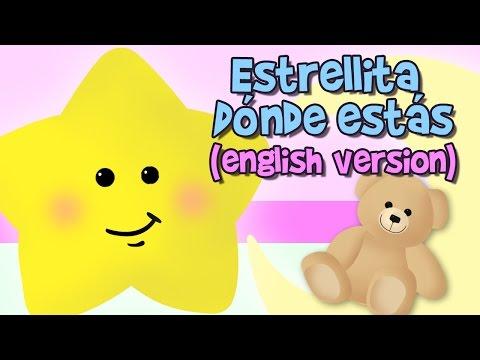ESTRELLITA DÓNDE ESTÁS letra en inglés