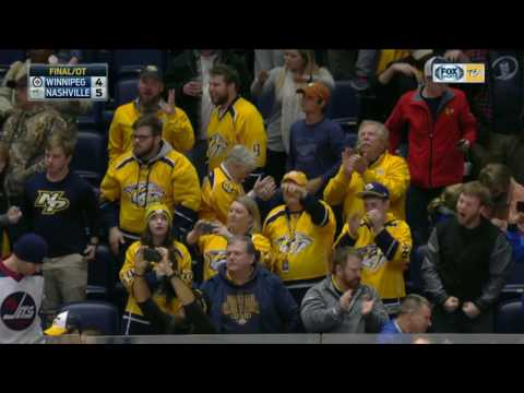 Neal makes a slick move to beat Hellebuyck in OT