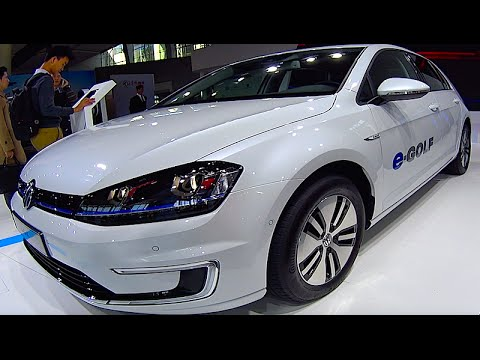 Volkswagen E Golf 2016 2017 Electric Car Exterior Interior You