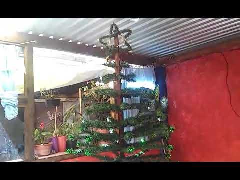 Arbol De Navidad Echo De Escarcha Alambre Y Una Tira De Madera Youtube