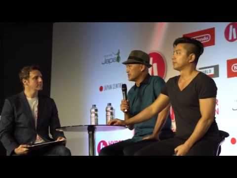 Ken Watanabe渡辺 謙 and Takao Osawa大沢 たかお @ HYPER JAPAN Festival 2018 in London