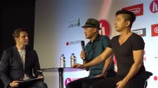 Ken Watanabe(渡辺 謙) and Takao Osawa(大沢 たかお) @ HYPER JAPAN Festival 2018 in London