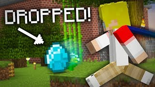 Skyblock, but I drop an item every minute... (Hypixel)