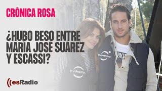 Crónica Rosa: ¿Hubo beso entre Mª José Suárez y Escassi?