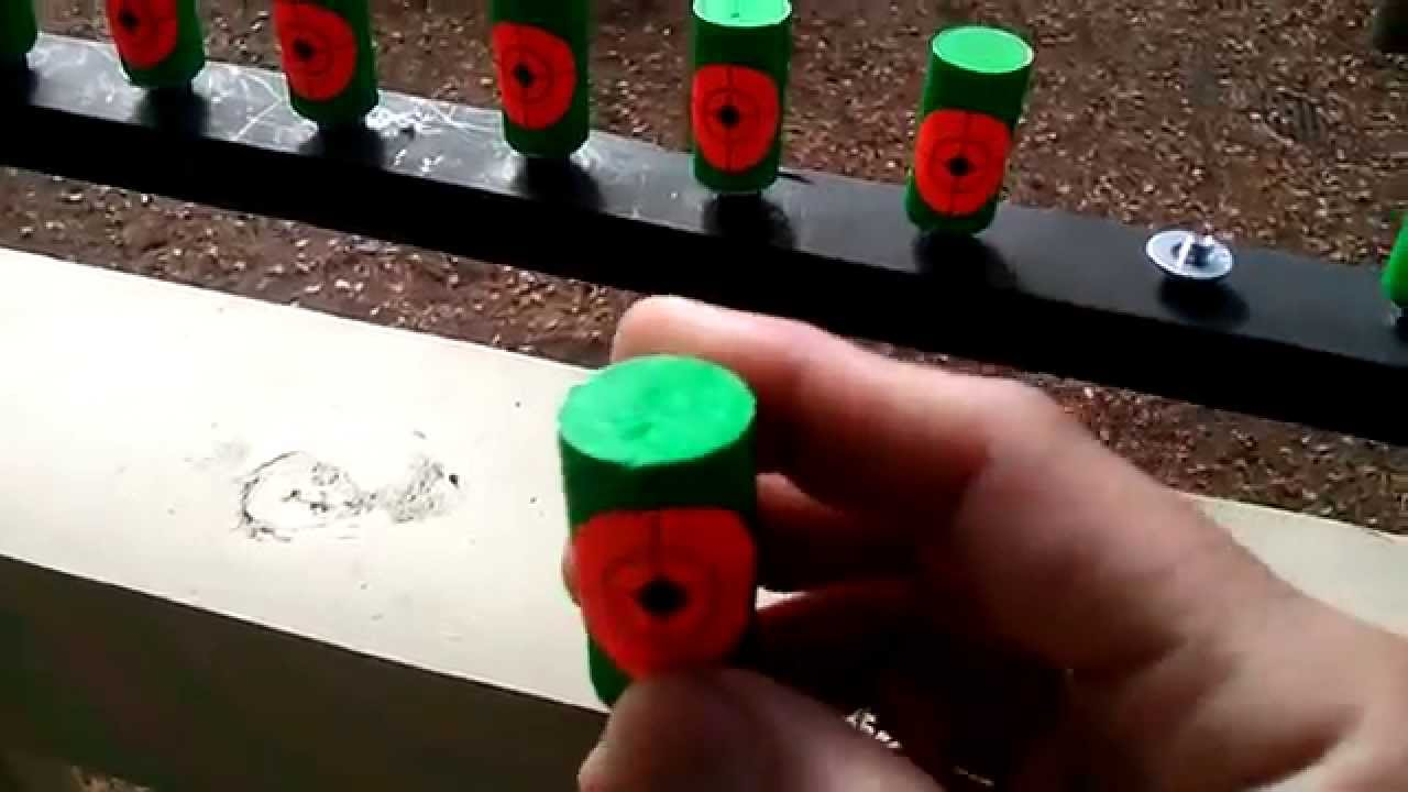 Wooden Air Rifle Reactive Targets