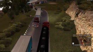 ATA Lojistik-Şamil | American Truck Simulator |Yoğun Trafik | Hard Traffic