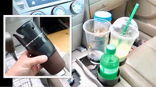 Transforming Car Cup Holder - 5 in 1 Mug - Adjustable Car Cup REVIEW