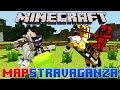 Minecraft Mapstravaganza! Cherry Ville, 20 Questions and Multi Maze!