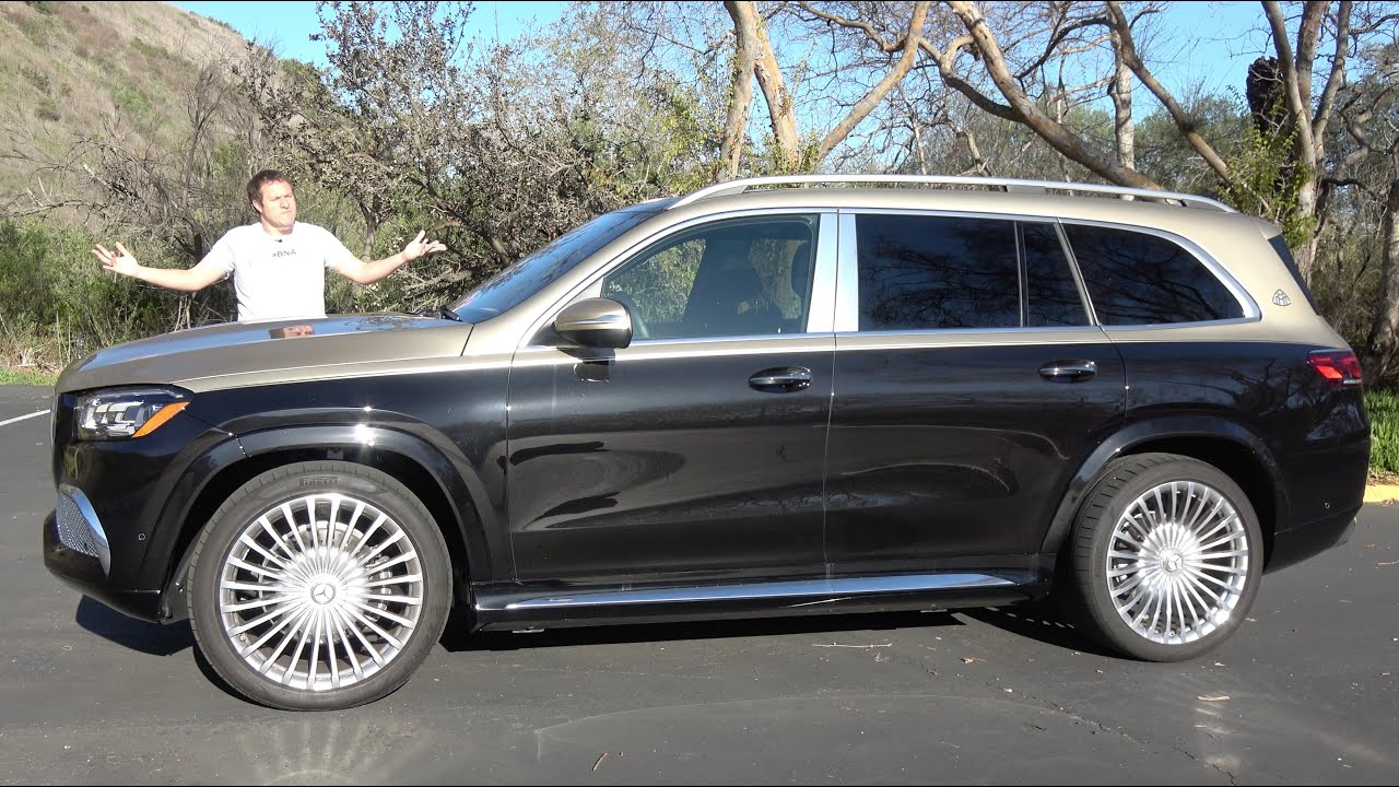 Download The 2021 Mercedes-Maybach GLS600 Is a $175,000 Ultra-Luxury SUV that Bounces