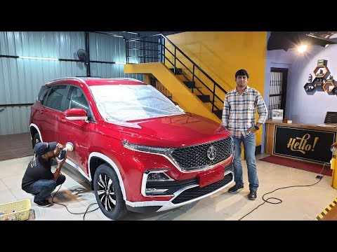 MG Hector Undergoes Nano Ceramic Coating|Benefits Explained in Detail&How its Different from PPF