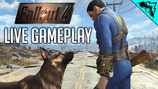 Fallout 4 Livestream Gameplay Playthrough - Opening, Starting, Settings #1