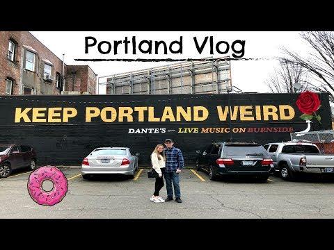 PORTLAND OREGON TRAVEL VLOG // Voodoo Donuts, Japanese Garden, Salt&Straw