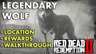 Red Dead Redemption 2 - Legendary Wolf (Location, Rewards, Walkthrough)