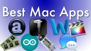My Favorite Mac Apps [futureinventions] (what's In My Dock)