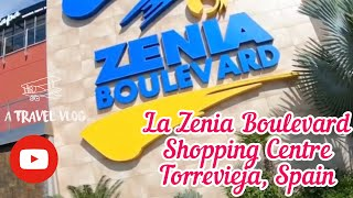 Download Mp3 La Zenia Boulevard Shopping Centre, Costa Blanca, Spain