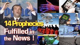 Ken Peters saw 14 End Times prophecies 30 years ago now fulfilled in the news. (New Edited Version)