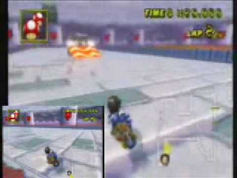 mario kart wii auto vs manual gba bowser s castle 3 youtube rh youtube com Mario Kart 8 Mario Kart 64
