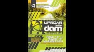 Uproar in the Dam 2014 Joey Riot & MC Whizzkid