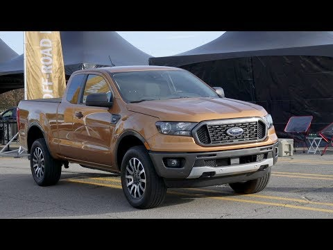 2019 Ford Ranger Start of Production Ceremony in Michigan
