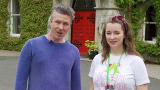 Barretstown Reconnect - Aiden Gillen plays 'Johnny Whoop'