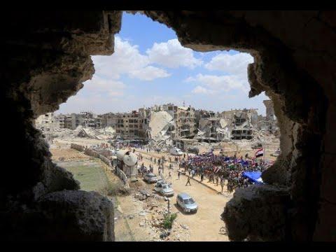 مقتل مدنيين بغارات على مدرسة تؤوي نازحي درعا بالقنيطرة  - نشر قبل 55 دقيقة