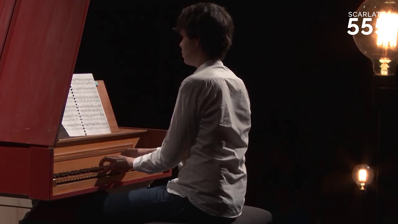 Scarlatti : Sonate pour clavecin en sol mineur K 30 L 499, par Justin Taylor #Scarlatti555