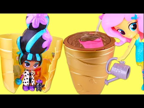 КУКЛЫ-ЦВЕТЫ. Blume Dolls Series 1 Magic Grow. Игры с водой Girls discover SURPRISE FLOWER DOLLS!