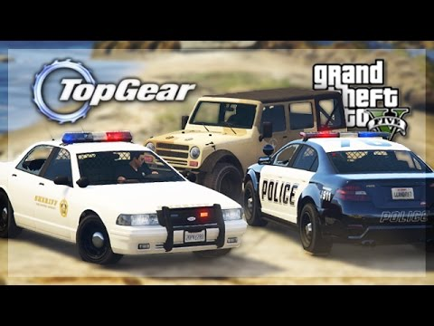 GTA 5 Online - (Top Gear Edition) Police Car Challenge! ft. Tom Matthews