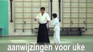 Y. Kobayashi Sensei (7th dan)  at Aikikai Aikido Amsterdam